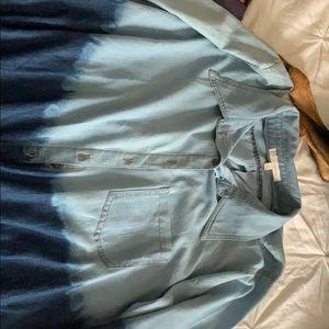 Denim tunic